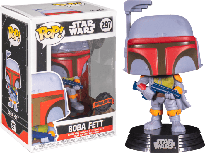 Star Wars POP! Vinyl Figure Boba Fett Vintage Limited 9 cm
