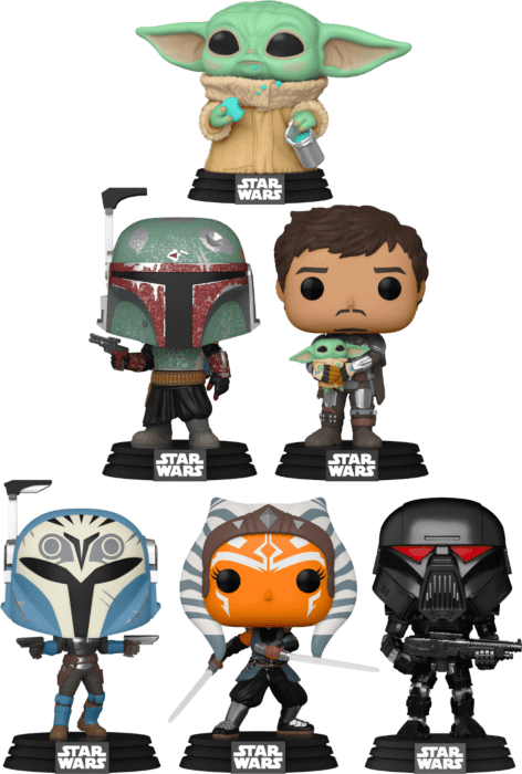 Star Wars: The Mandalorian - Who Stole The Cookie From The Pop! Vinyl Bundle (Set of 6)