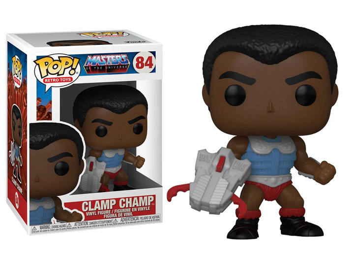 Masters of the Universe POP! Animation Vinyl Figure Clamp Champ 9 cm
