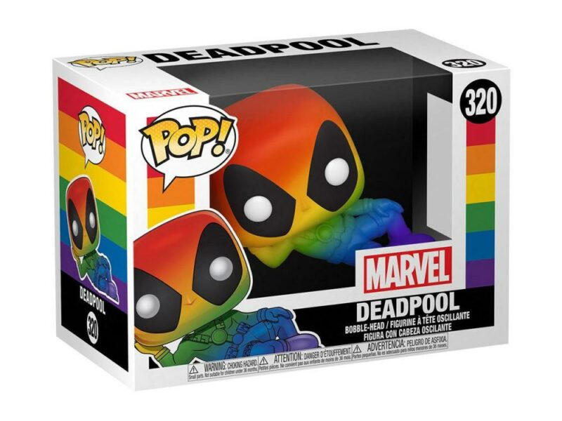 Marvel POP! Pride Vinyl Figure Deadpool (RNBW) 9 cm