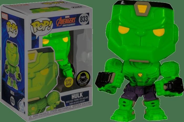 Avengers Mech Strike POP! Vinyl Figure Hulk Glow in the Dark Limited 9 cm