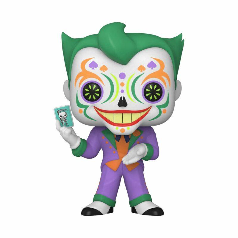 Batman POP! DC Vinyl Figure Joker Dia de los Muertos 9 cm