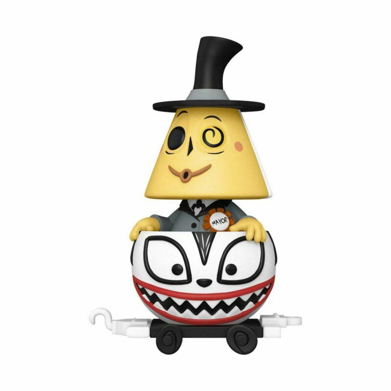 Nightmare before Christmas POP! Disney Train Cart Vinyl Figure Mayor in Ghost Cart 9 cm
