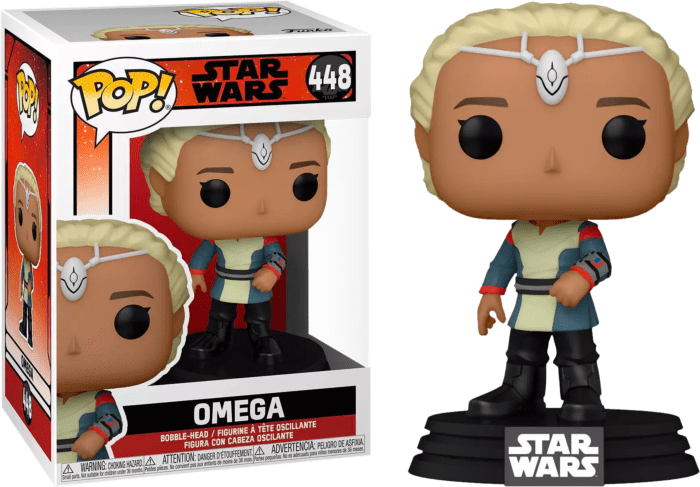 Star Wars: The Bad Batch POP! TV Vinyl Figure Omega 9 cm