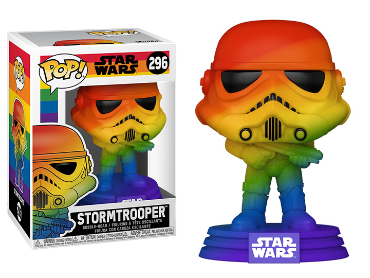Star Wars POP! Pride Vinyl Figure Stormtrooper (RNBW) 9 cm