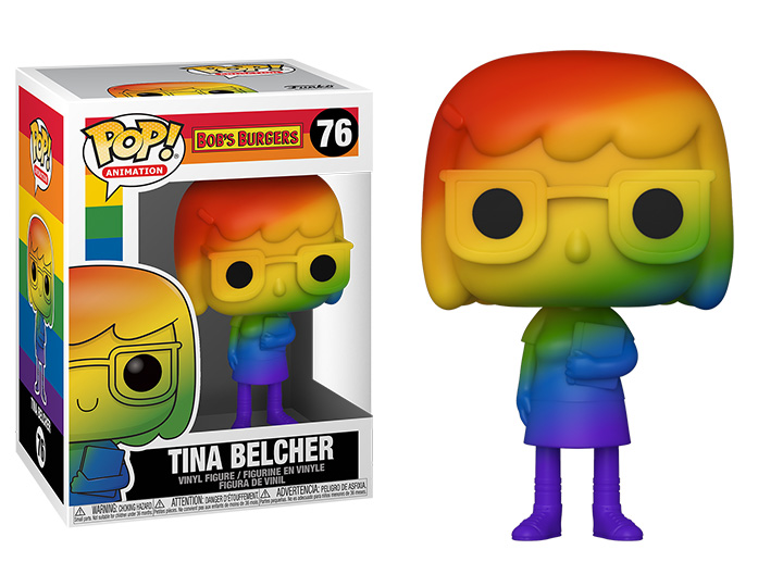 Bob's Burgers POP! Pride Vinyl Figure Tina Belcher (RNBW) 9 cm