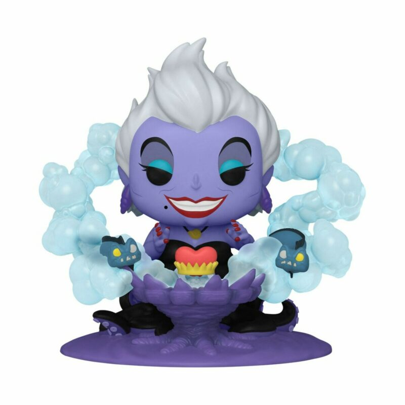 Disney POP! Deluxe Villains Vinyl Figure Ursula on Throne 9 cm