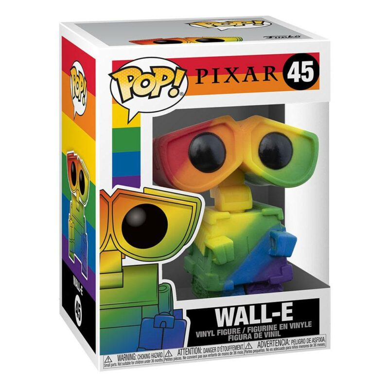 Wall-E POP! Pride Vinyl Figure Wall-E (RNBW) 9 cm