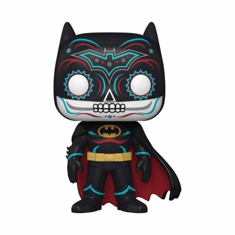 Batman POP! DC Vinyl Figure Batman Dia de los Muertos 9 cm