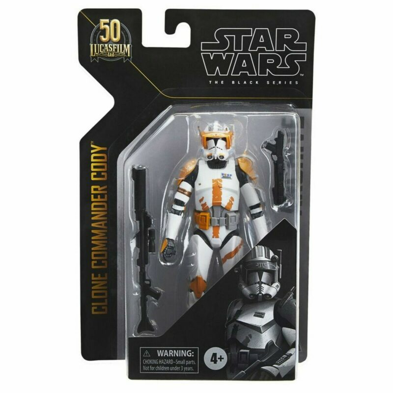 Star Wars Black Series Archive 2021 50th Anniversary Wave 2 Action Figure Clone Commander Cody15 cm