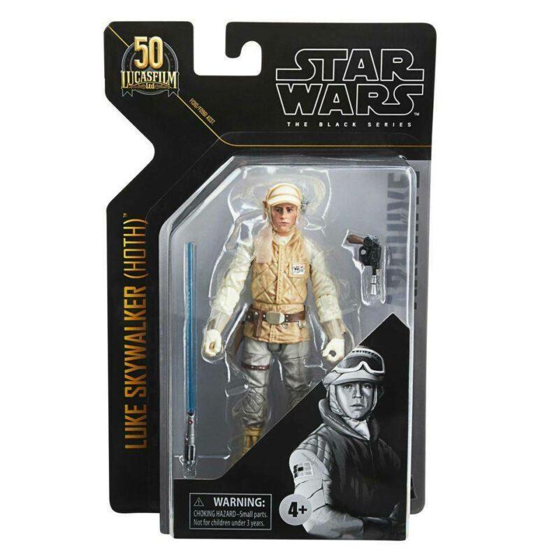Star Wars Black Series Archive 2021 50th Anniversary Wave 2 Action Figure Luke Skywalker (Hoth) 15 cm