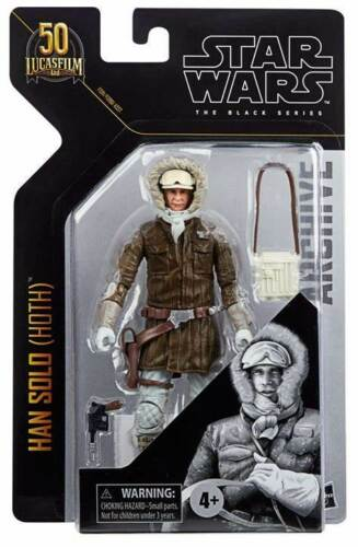 Star Wars Black Series Archive 2021 50th Anniversary Wave 2 Action Figure Han Solo (Hoth)15 cm