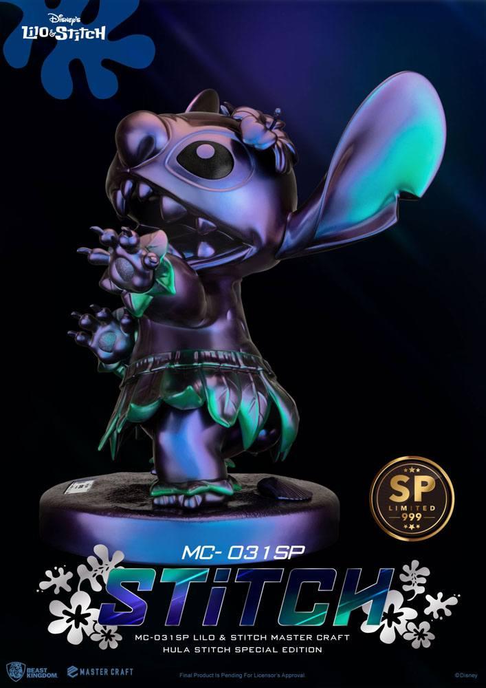 Disney Master Craft Statue Hula Stitch Special Edition 38 cm