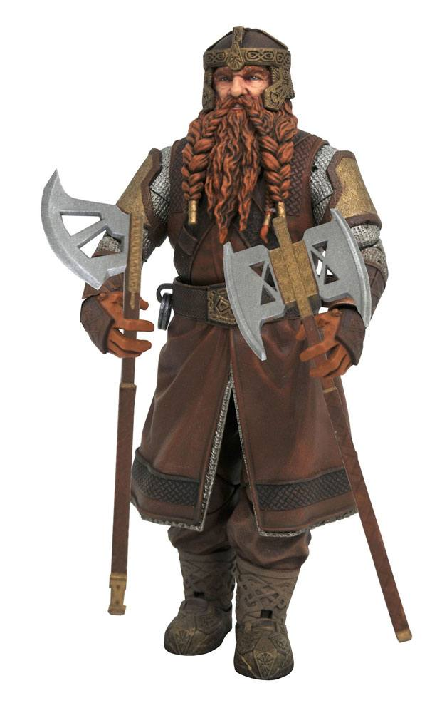 Lord of the Rings Select Series 1 Action Figure Gimli 18 cm