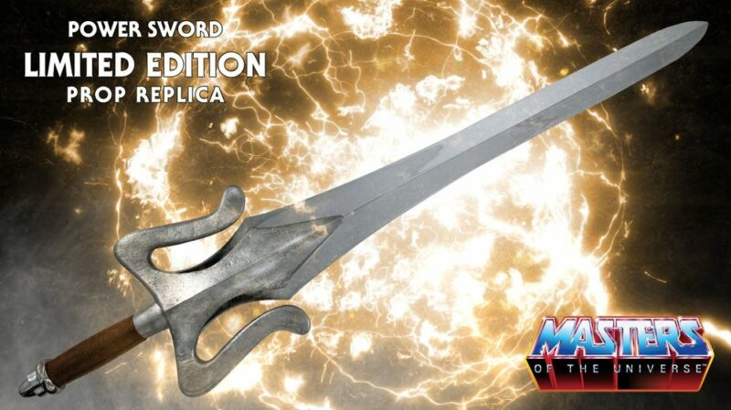 Masters of the Universe 1/1 Replica He-Man's Power Sword 102 cm