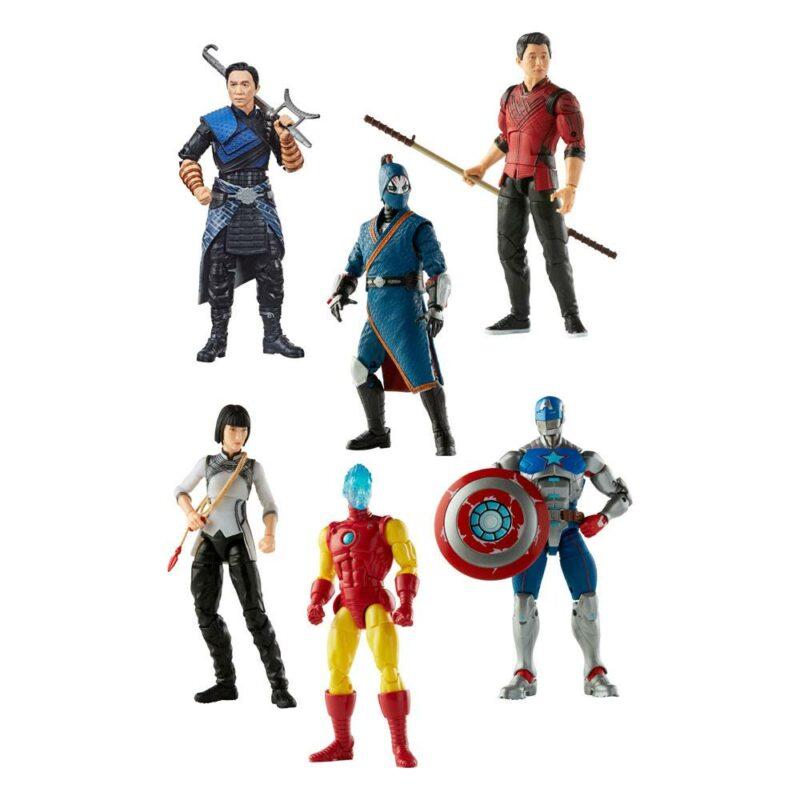 Shang-Chi Marvel Legends Series Action Figures 15 cm 2021 Wave 1 Assortment (6)