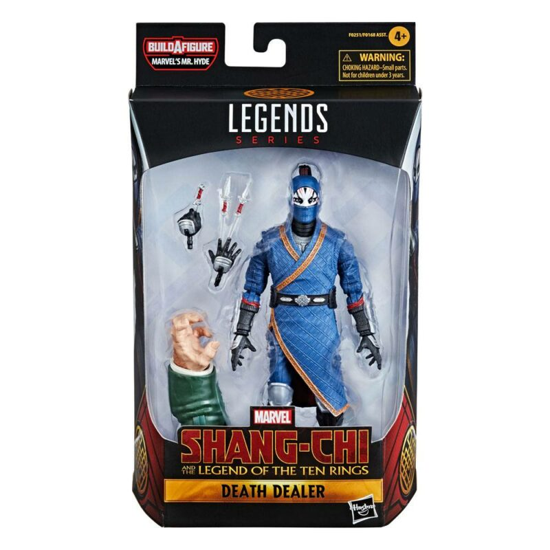 Shang-Chi Marvel Legends Series Wave 1 2021 Action Figure Death Dealer (Shang-Chi and the Legend of the Ten Rings) 15 cm