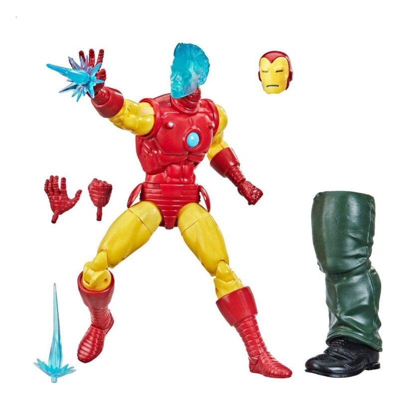 Shang-Chi Marvel Legends Series Wave 1 2021 Action Figure Tony Stark (A.I.) (Iron Man Comics)