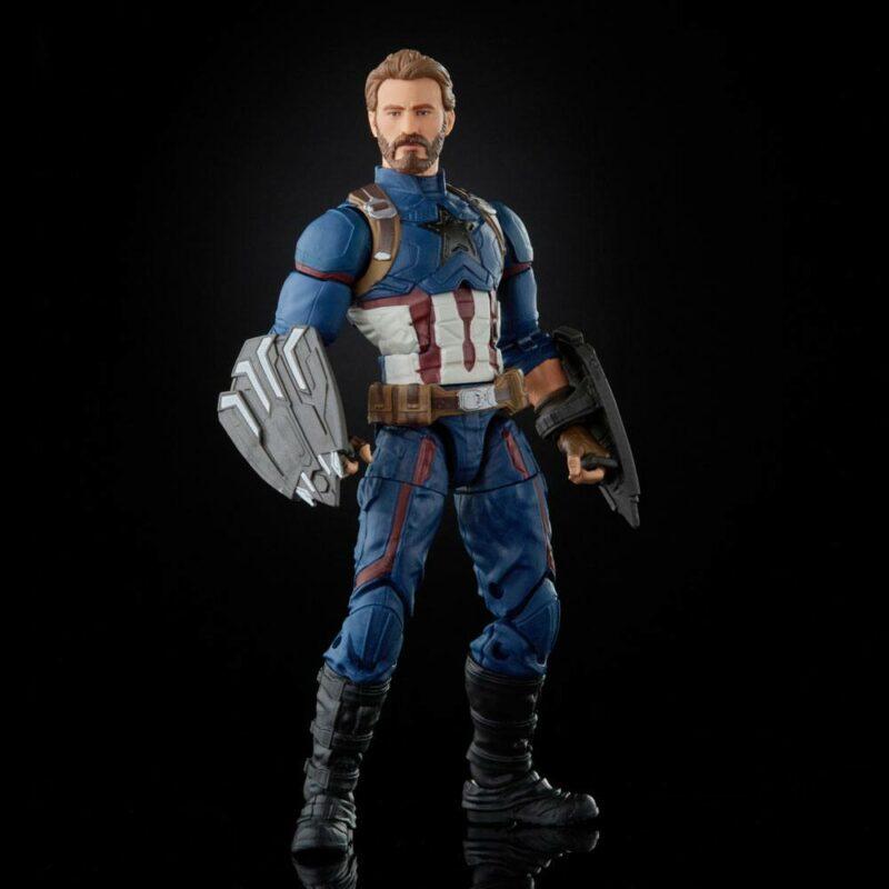 The Infinity Saga Marvel Legends Action Figure Captain America (Avengers: Infinity War) 15 cm