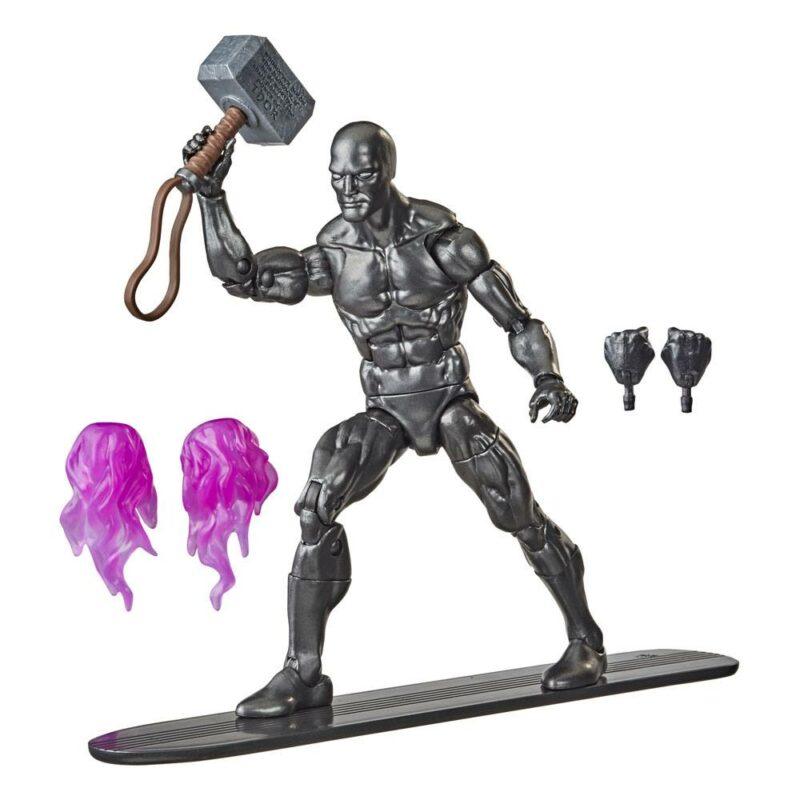 Marvel Legends Series Action Figure 2021 Silver Surfer with Mjolnir 15 cm
