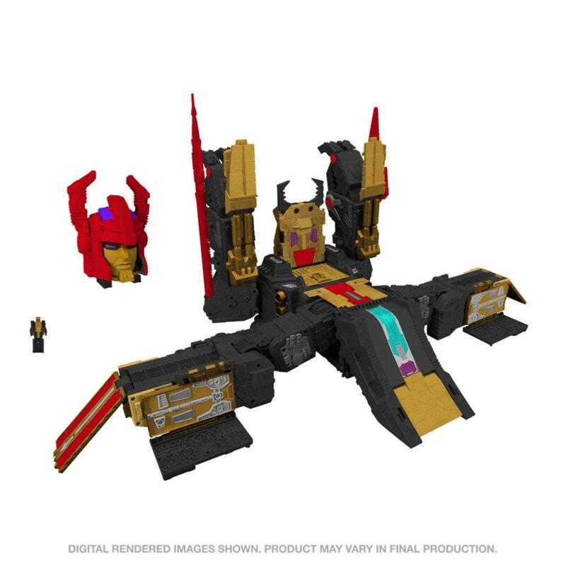 Transformers Generations Selects Legacy Titan Class Action Figure 2021 Black Zarak 53 cm