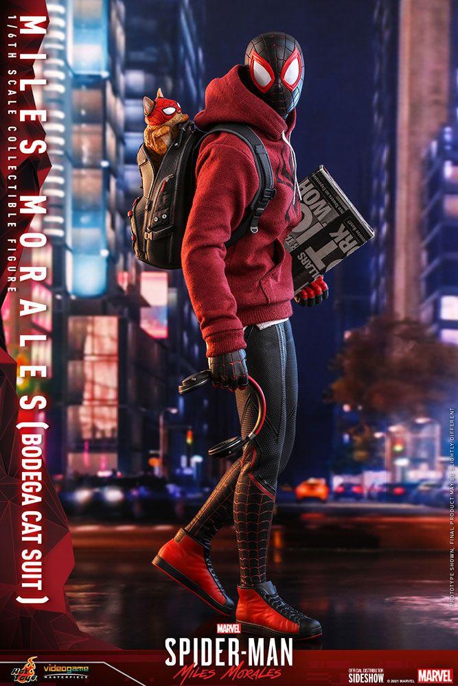 Spider-Man: Miles Morales Videogame Masterpiece Action Figure 1/6 Miles Morales Bodega Cat Suit 29 cm