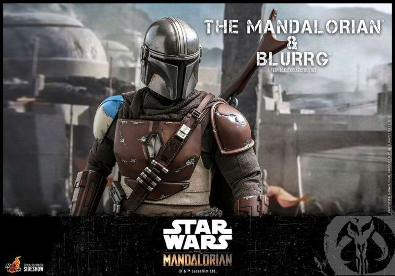 Star Wars The Mandalorian Action Figure 1/6 Blurrg 37 cm
