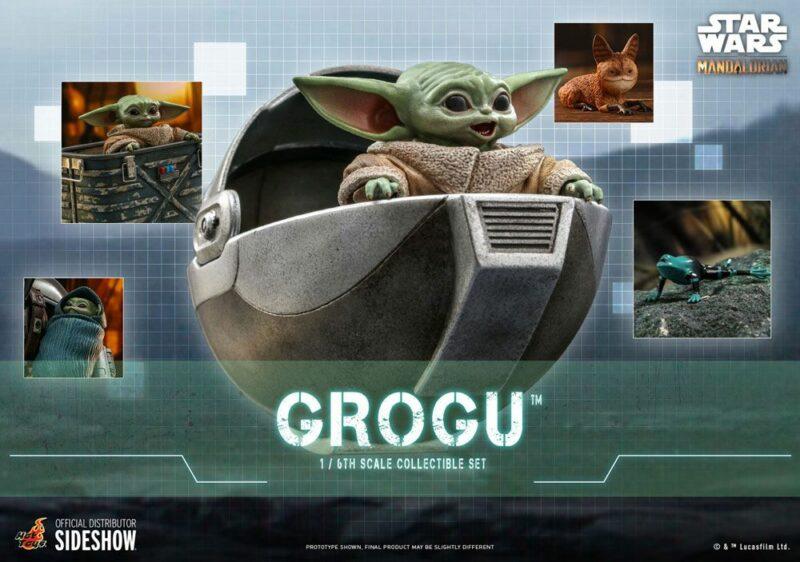 Star Wars The Mandalorian Action Figures 1/6 Grogu