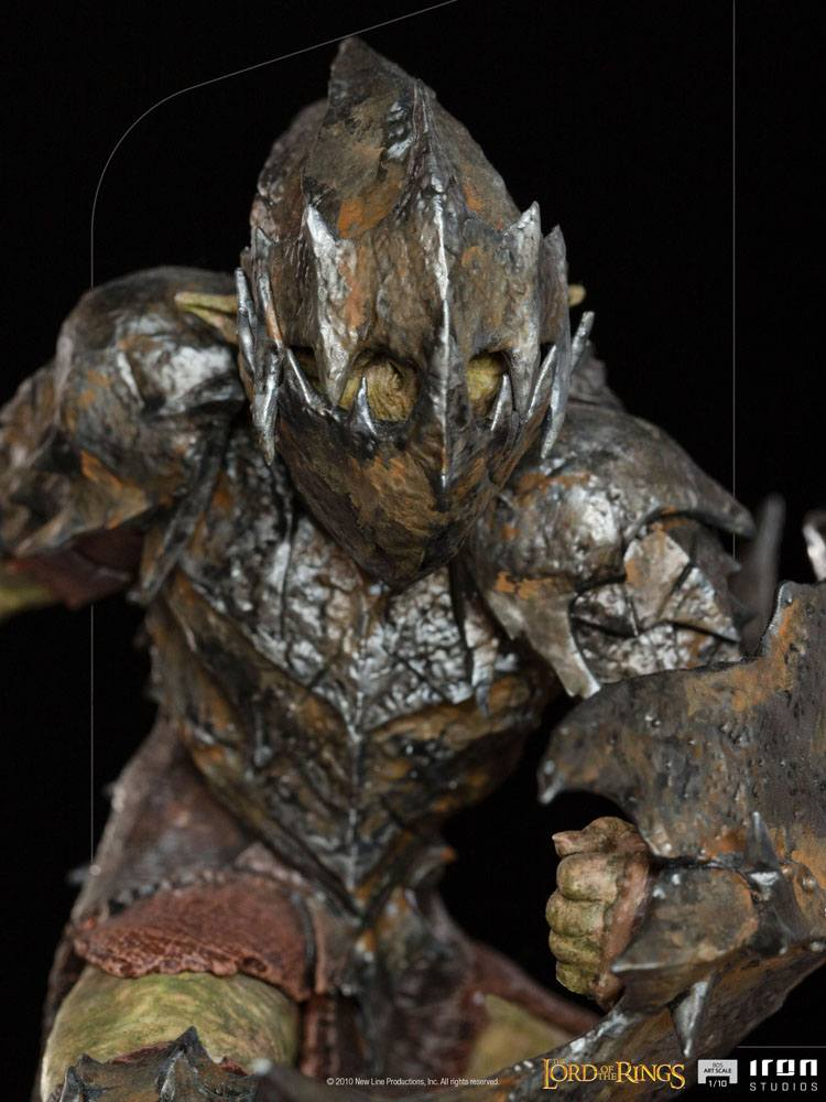 Lord Of The Rings BDS Art Scale Statue 1/10 Armored Orc 20 cm