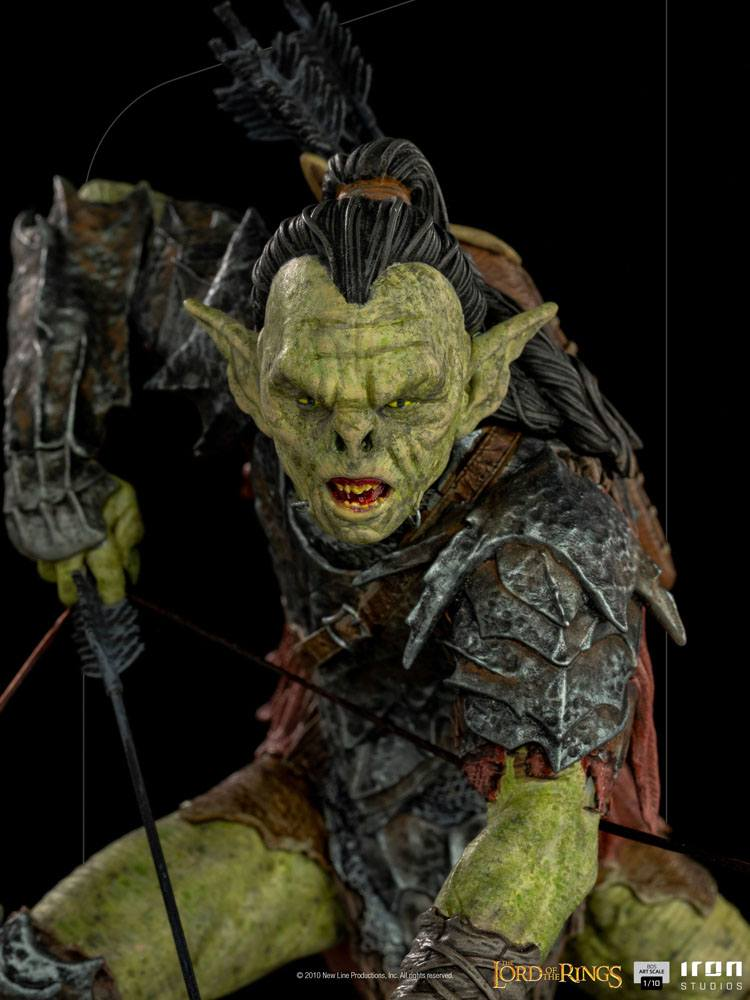 Lord Of The Rings BDS Art Scale Statue 1/10 Archer Orc 16 cm