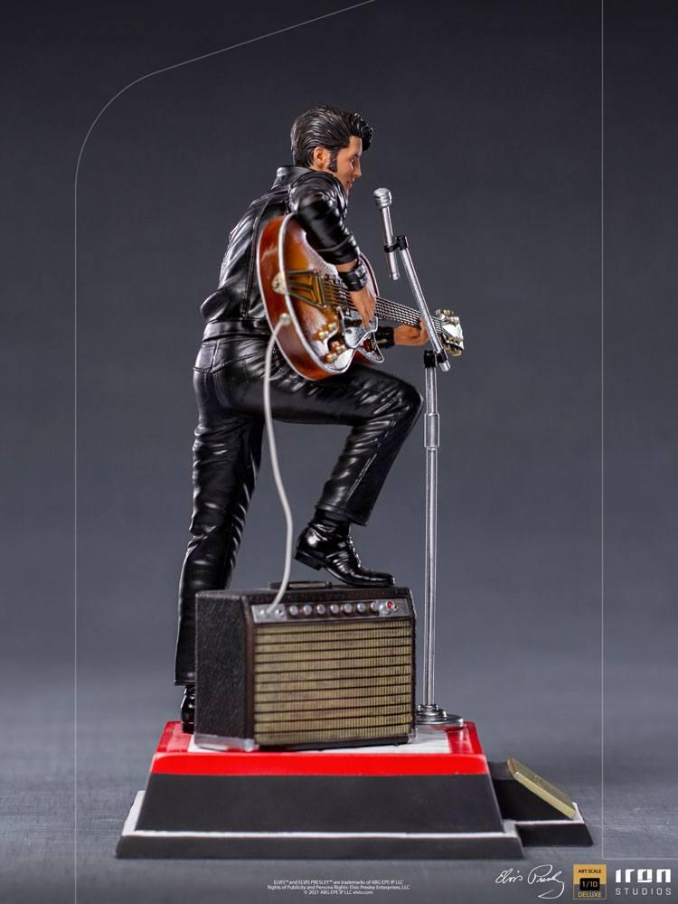 Elvis Presley Deluxe Art Scale Statue 1/10 Comeback Special 23 cm