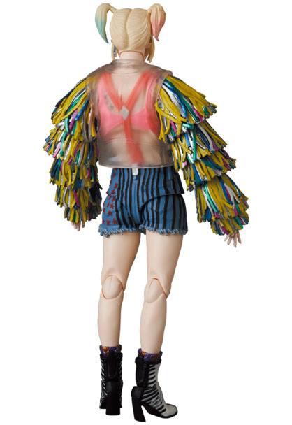 Birds Of Prey MAF EX Action Figure Harley Quinn Caution Tape Jacket Ver. 15 cm