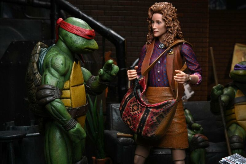 Teenage Mutant Ninja Turtles Action Figure Ultimate April O'Neil 18 cm