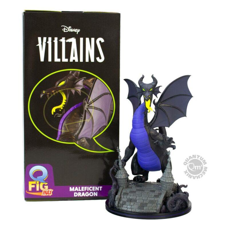 Disney Villains Q-Fig Max Elite Figure The Maleficent Dragon 22 cm