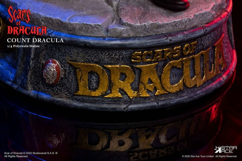 Scars of Dracula Statue 1/4 Count Dracula 2.0 53 cm