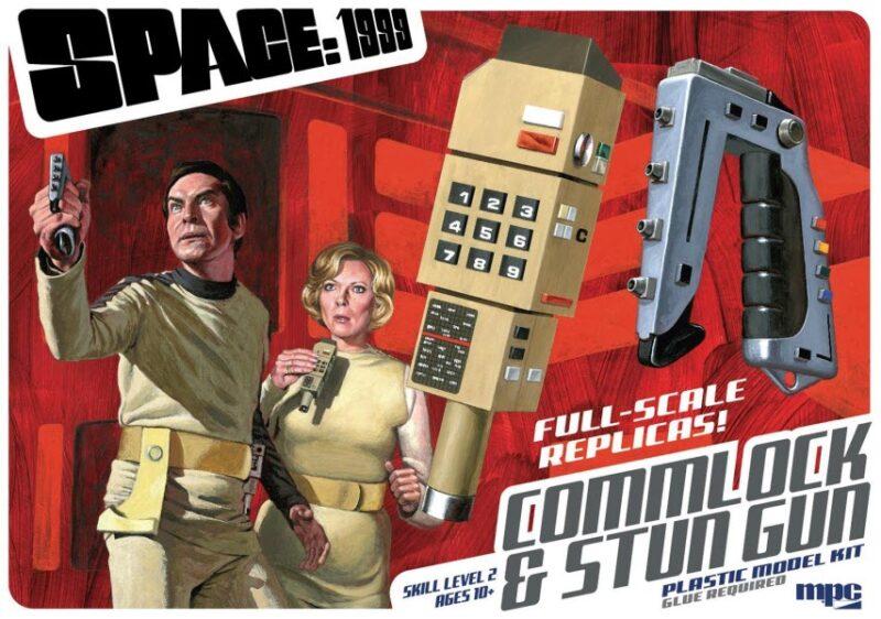 SPACE 1999 STUN GUN/COMMLOCK MODEL KIT