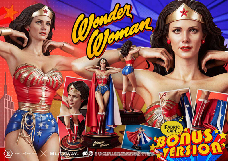 WONDER WOMAN 1975 TV BONUS VERSION STATUE
