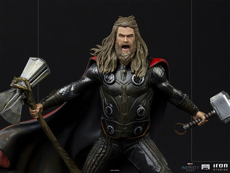 The Infinity Saga BDS Art Scale Statue 1/10 Thor Ultimate 23 cm