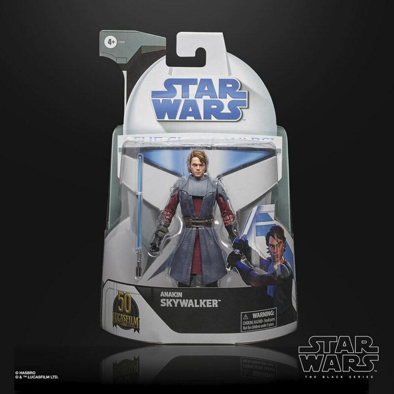 Star Wars: The Clone Wars The Black Series Lucasfilm's 50th Anniversary Action Figure Anakin Skywalker 15 cm