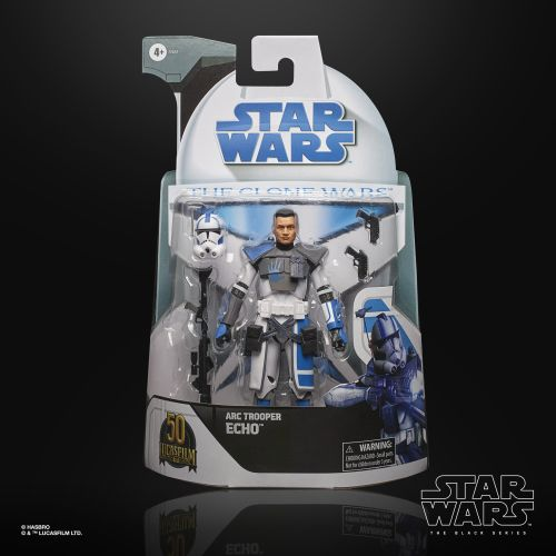 Star Wars: The Clone Wars The Black Series Lucasfilm's 50th Anniversary Action Figure Arc Trooper Echo 15 cm