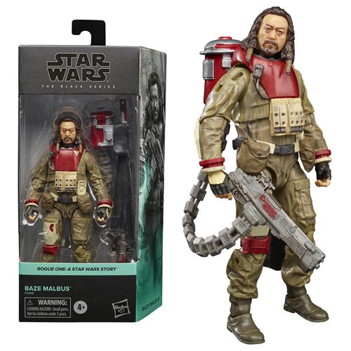 Star Wars: Rogue One Black Series 2021 Action Figure Baze Malmus 15 cm
