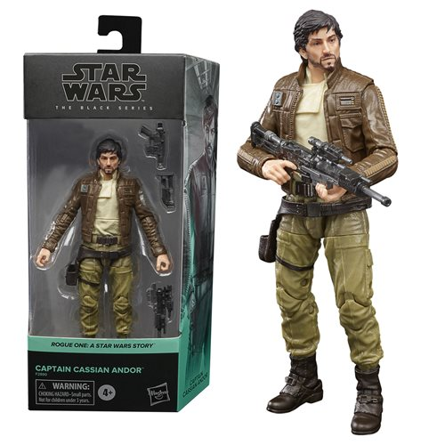 Star Wars: Rogue One Black Series 2021 Action Figure Cassian Andor 15 cm