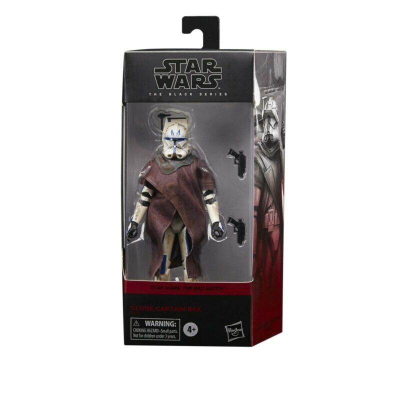 Star Wars: The Bad Batch Black Series Action Figure Clone Captain Rex 15 cm