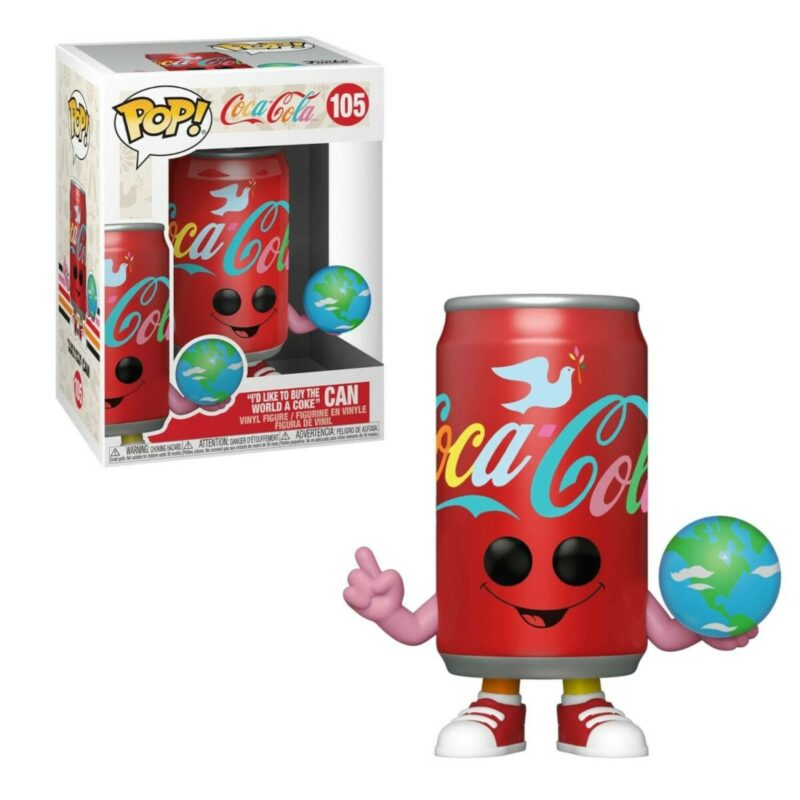 Coca-Cola POP! Vinyl Figure Flowery Coca-Cola Can Hilltop Anniversary 9 cm
