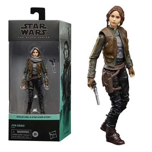 Star Wars: Rogue One Black Series 2021 Action Figure Jyn Erso 15 cm