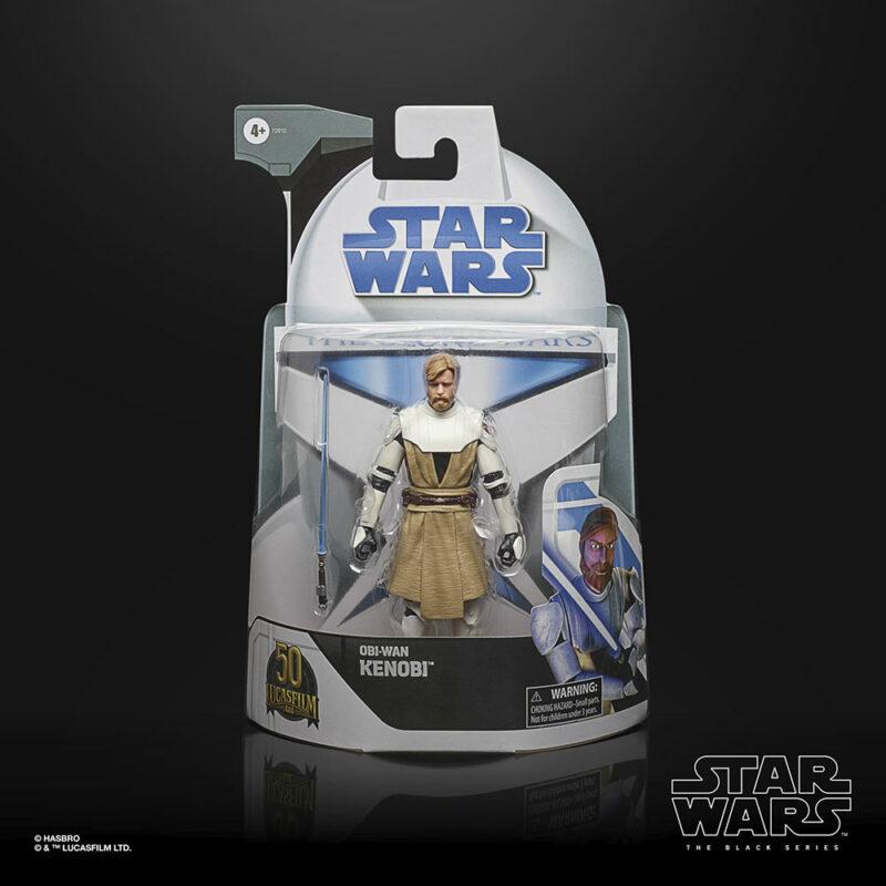 Star Wars: The Clone Wars The Black Series Lucasfilm's 50th Anniversary Action Figure Obi Wan-Kenobi 15 cm