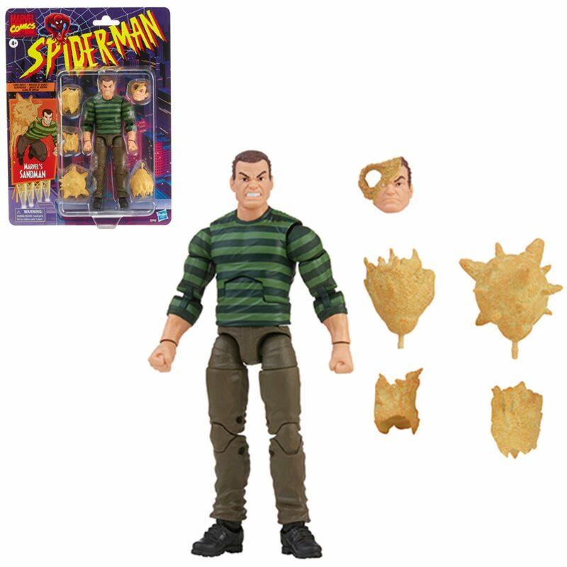 Spider Man Marvel Legends Action Figure Sandman 15 cm