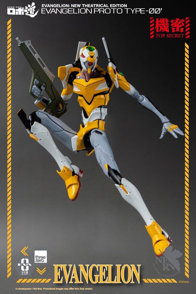 Evangelion: New Theatrical Edition Robo-Dou Action Figure Evangelion Proto Type-00 25 cm