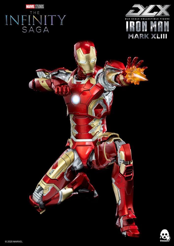 Infinity Saga DLX Action Figure 1/12 Iron Man Mark 43 16 cm