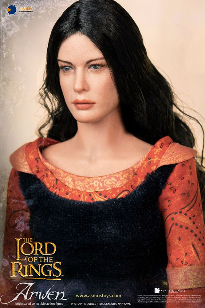 Lord of the Rings: The Return of the King Action Figure 1/6 Arwen in Death Frock 25 cm